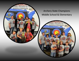 1st Place in State Archery!