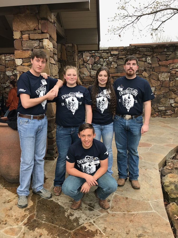 NHS Envirothon State Champs Again