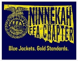 Ninnekah FFA Named 2 Star Chapter