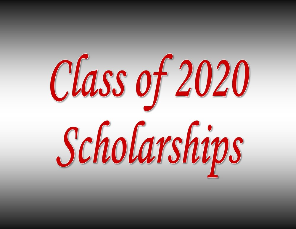 Class of 2020 Scholarship Recipients