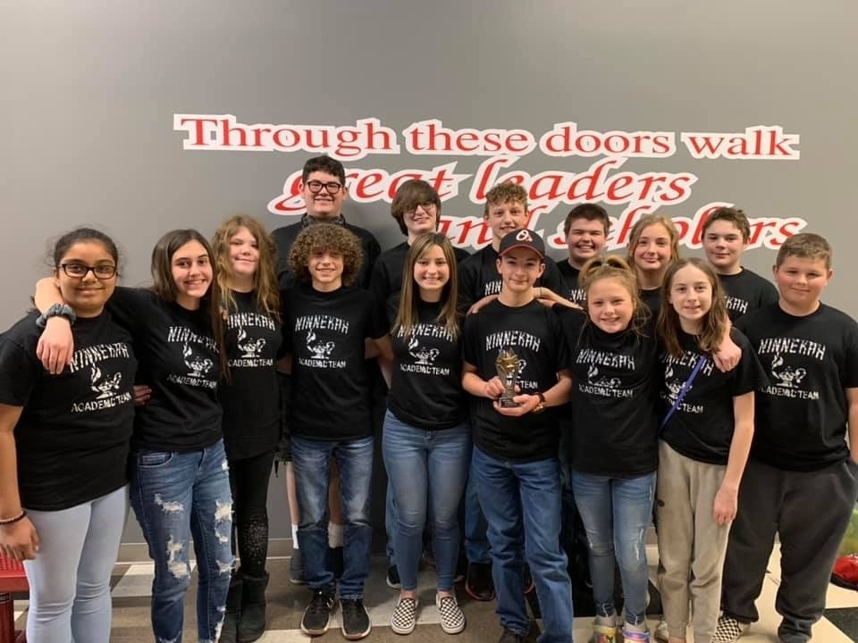 8-9th Grade Academic Team Takes Regional Championship