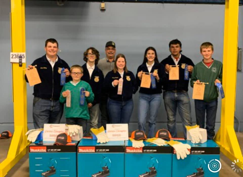 Students Compete in Ag. Mechanics Contest at OYE