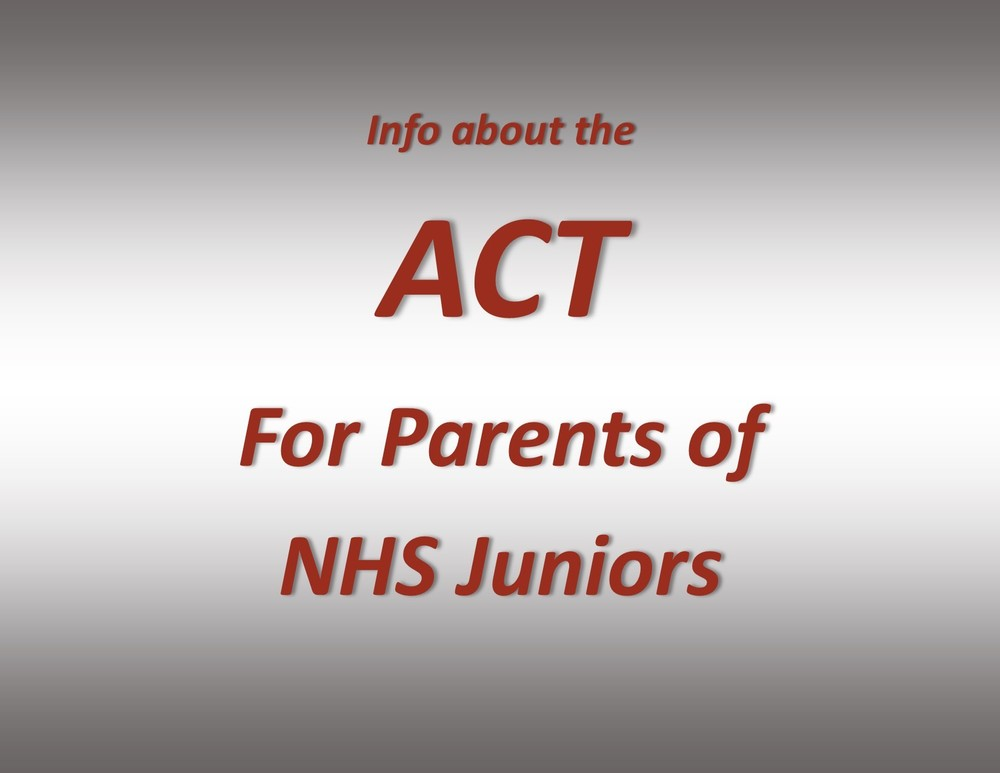 NHS Juniors to Take ACT