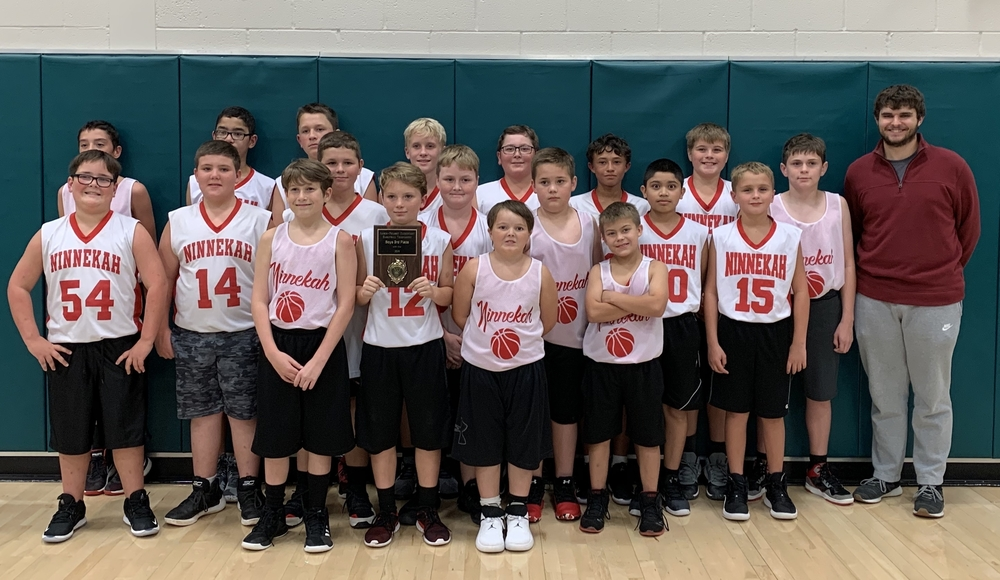 Ninnekah 5-6th Grade Boys Take 3rd Place
