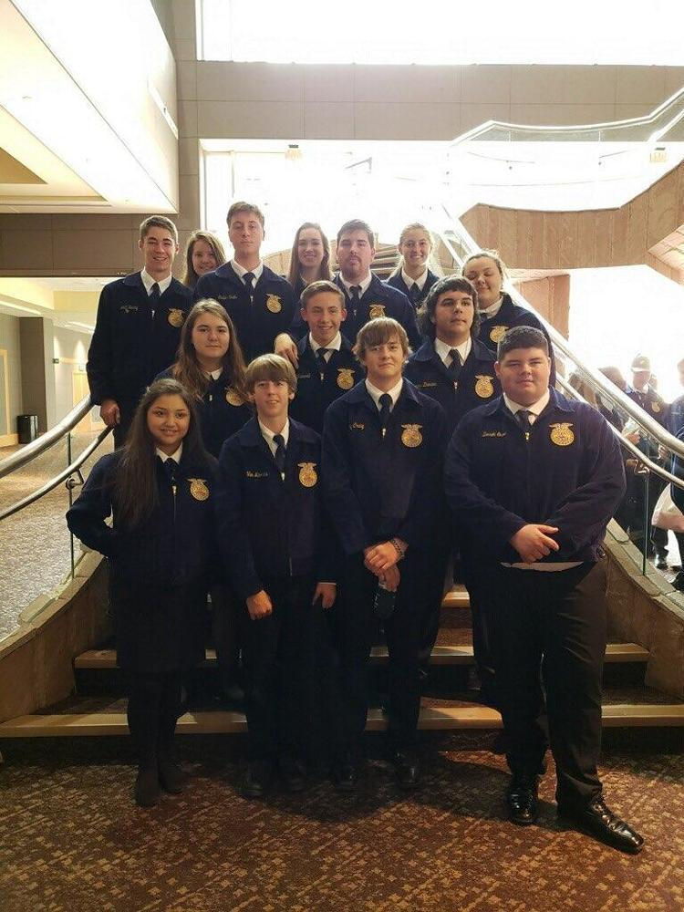 Ninnekah FFA Recognized at State