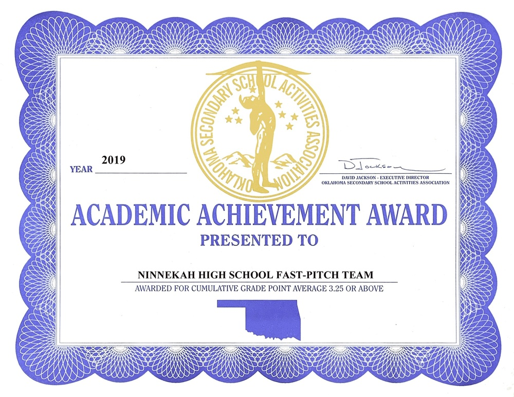 2019 NHS Lady Owls Earn Academic Achievement Award