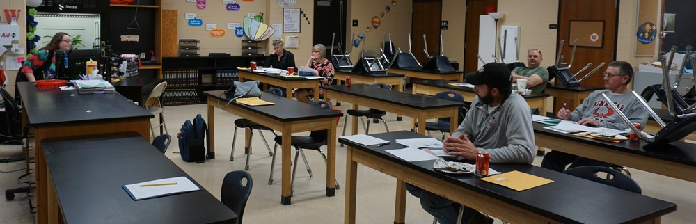 Even School Board Members Continue Learning